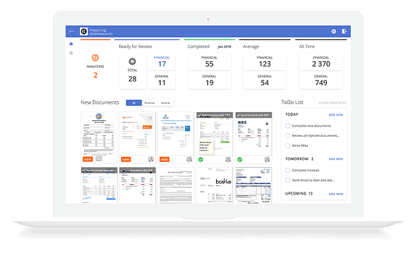 smart financial document management system