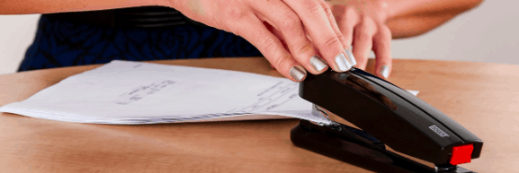 Stapling documents