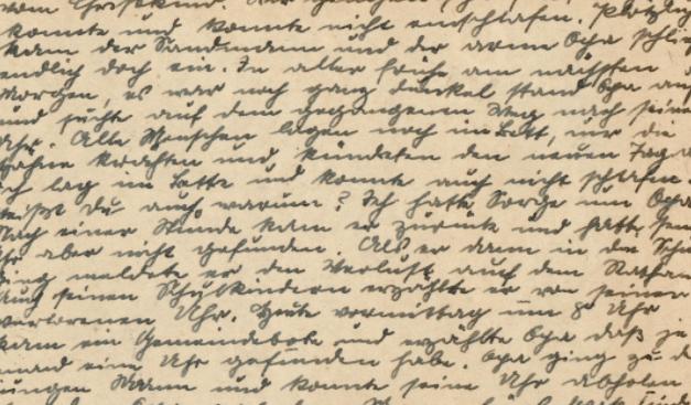 Data extraction of handwriting