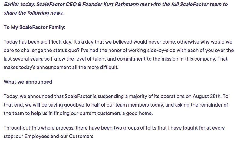 ScaleFactor CEO & Founder Kurt Rathmann