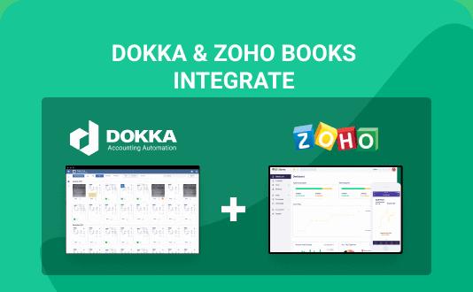 DOKKA & Zoho Books integrate for accountants and businesses