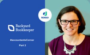Backyard Bookkeeper, a virtual bookkeeping company