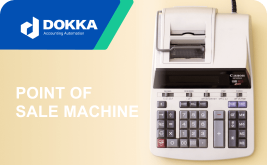 Accounting Point of Sale Machine
