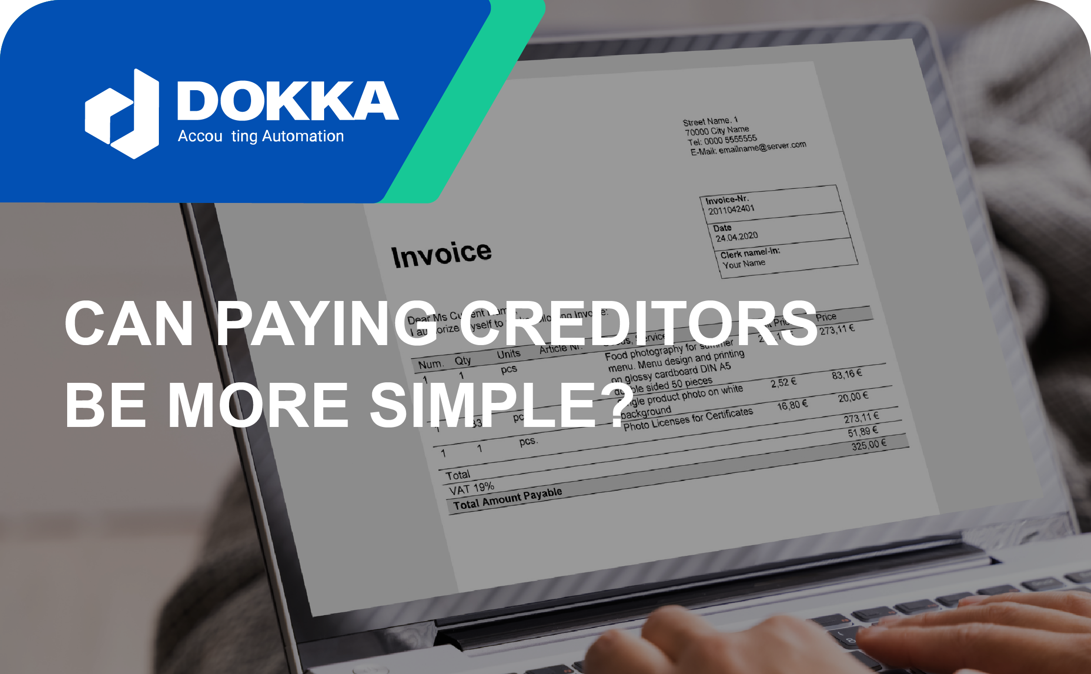 Can paying creditors be more simple?